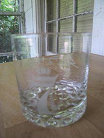Seagram's 7 Glass