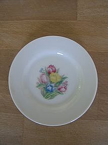 Miniature Tulip Tea Set Plate