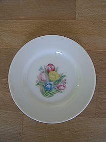 Miniature Tulip Tea Set Plate