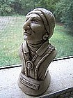 Sequoyah Marble Bust