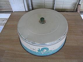 Tin Cake Cover