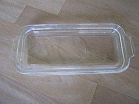 Glass Butter Plate