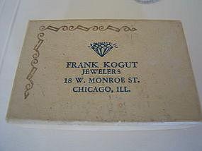 Frank Kogut Jewelers Box