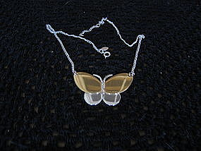 Avon Butterfly Necklace
