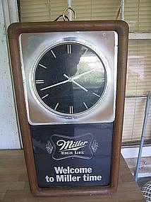 Miller Beer Clock