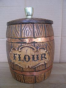 Treasure Craft Flour Canister