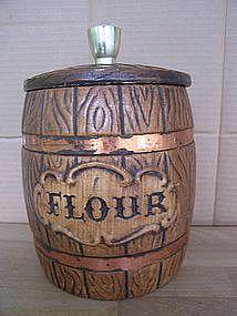 Treasure Craft Flour Canister