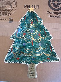 Italian Christmas Tree Dish