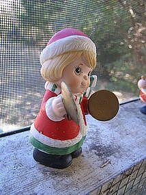 Homco 5106 Christmas Figurine