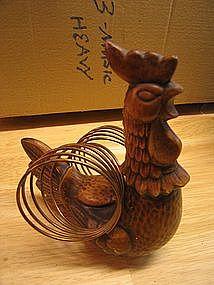 Treasure Craft Rooster Napkin Holder