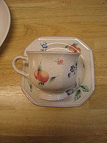 Mikasa Plum Delight Cup and Saucer