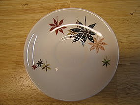 Shenango Calico Leaves Saucer