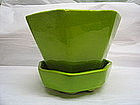 Chartreuse Green Planter