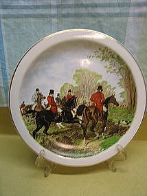 Foxhunting Plate