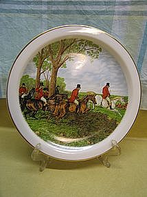 Churchill China Hunt Plate