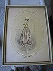 Victorian Woman Print