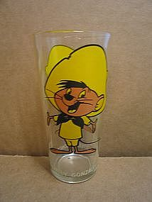 Speedy Gonzales Pepsi Glass