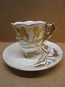 Vintage Japanese Demitasse Cup and Saucer