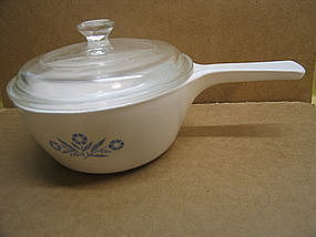 Corning Cornflower Saucepan