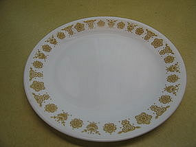 Corelle Butterfly Gold Plate