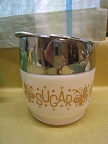 Corelle Butterfly Gold Sugar Dispenser