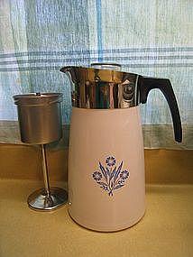 Corning Cornflower Coffee Pot