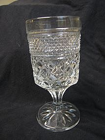 Diamond Cut Goblet