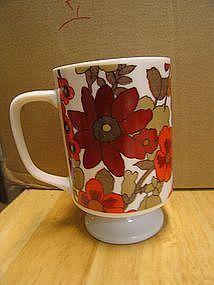 Red Pansy Mug