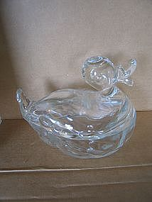 Glass Duck Box