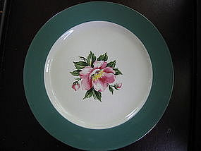Homer Laughlin Empire Green Plate