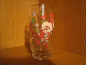 Strawberry Shortcake Glass