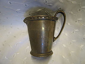 Albert Pick Floridan Silver Pitcher