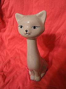 Long Neck Cat Figurine