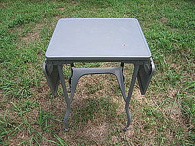 Metal Typewriter Table