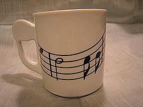 Treble Clef Mug