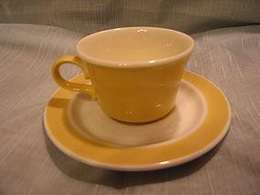 Royal China Yellow Cup and Saucer