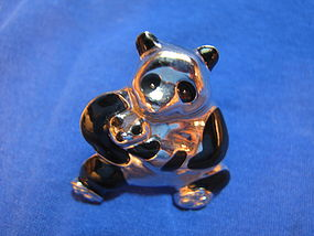 Liz Claiborne Panda Pin