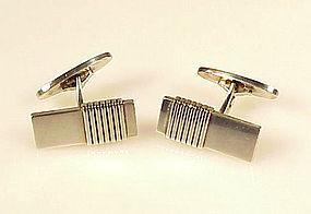 Georg Jensen Art Deco Sterling Silver Cufflinks