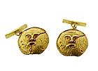 Nino D'Antonio Germano 18K Gold Antiquity Cufflinks