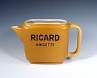 French Art Deco Porcelain Ricard Water Jug
