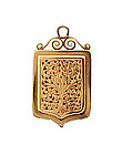 French Victorian 18K Gold Vinaigrette Locket