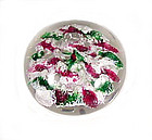 South Jersey Devil�s Fire Glass Paperweight