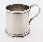 Tiffany & Co. Sterling Silver Tankard Figural Jigger