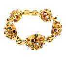 H Stern 18K Gold & Gemstone Sputnik Bracelet