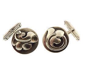 Art Deco Sterling Silver Cufflinks