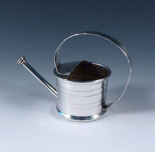Cartier Sterling Silver Sprinkler Watering Can Vermouth Dispenser