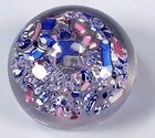 New England Glass Co. Scrambled Paperweight
