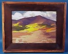 Rocky Mountain Oil Painting-A.J. Hammond 1924