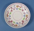 English Pink Luster Porcelain Saucer