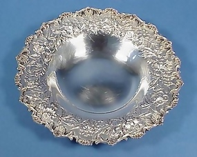 Kirk Sterling Silver Repousse Bowl